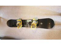 Burton Raven 159 Snowboard + Burton Bindings + Dakine board Bag