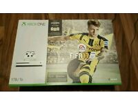 New xbox one S with fifa 2017.