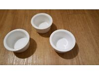 3 souffee type pots