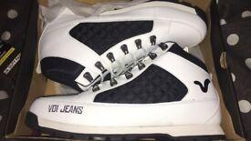 VOI boots white size 12