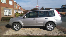 Nissan X-Trail sport 2.2 dci SUV ONE OWNER FROM NEW ExcellentCondition, lowMileage TowBar RoofRack
