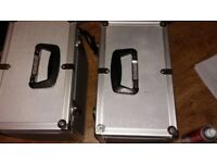 Record cases x 2 flight cases excellent condition with keys
