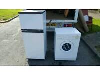 White hotpoint fridge freezer £70 delivered