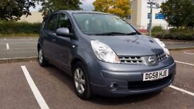 2008 Nissan NOTE 1.4 Acenta 5dr Automatic 41,000 miles with Bluetooth telephone system