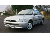 Ford Escort 1.4 Petrol, 16550 miles genuine with full service history