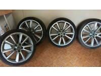 19 vauxhall vxr alloys and tyres