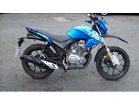 LEXMOTO ASSAULT 125 LEARNER LEGAL MOTORCYCLE