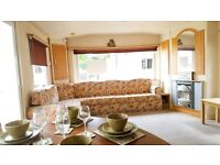 2 BEDROOM STATIC CARAVAN FOR SALE, SITE FEE'S FROM ONLY £3500 WITH NONE TO PAY TILL 2018