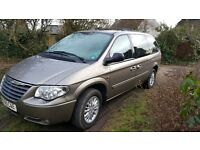Chrysler Grand Voyager 2.8CRD Automatic, 05 Reg, Stow&Go Seats ** New MOT ** FSH