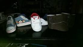 Bundle baby trainers mix size