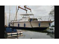Cleopatra fast fisherman 23ft boat