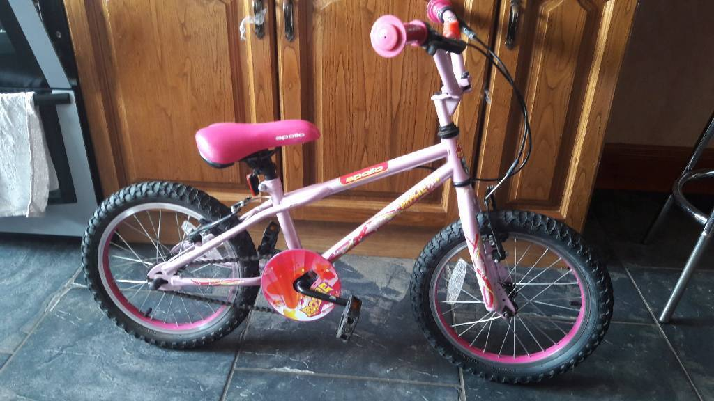 Girls 16 inch apollo bicycle