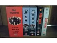 Box Sets of Sopranos Series 1-4 complete