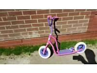 Barbie PINK Push Scooter Teen Kids Children Stunt Bike Bicycle