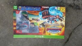 Skylanders Superchargers Starter Pack Complete In Box for Xbox One Mint New