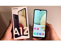 BRAND NEW SAMSUNG GALAXY A12 UNLOCKED 32GB SMART PHONE
