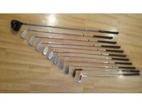 Left Handed Golf Set (Good Condition): 3-PW Callaway X14 Irons, Ping Driver G5 460cc, Wedge, Putter