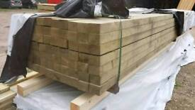 4x3 Planed Tanalised Timber C24 (95mm x 70mm) 6mtr Lengths
