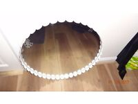 Big Round Circle Bathroom/Wall Mirror