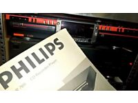 Philips CDR 765 Double CD Recorder/Player