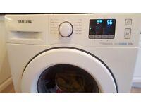Samsung washing machine 8kg ecobuble.