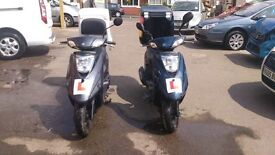 two YAMAHA VITY 125 2015 65reg ***1 OWNERS FROM NEW ***