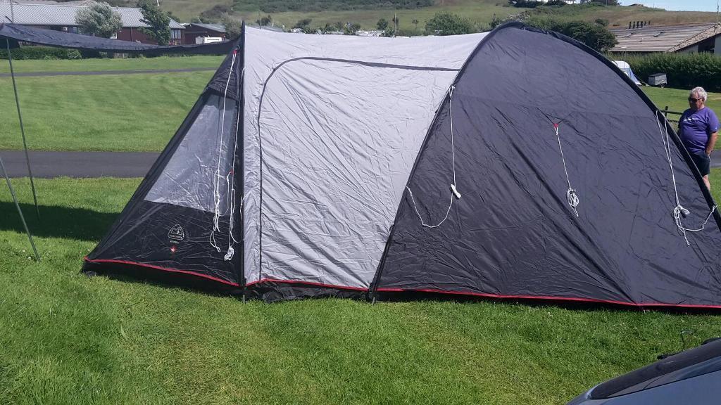 Eurohike Stowe 4 Berth Family Tent In Nuneaton