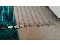 Golf Clubs.RIGHT HANDED Irons,Driver,Putter,Bag