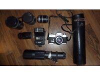 Minolta SLR and lenses