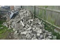 Hard core/rubble