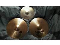 Hi-hats and splash cymbal