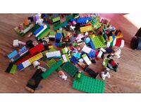 job lot bundle Set of Lego blocks and accessories mixed