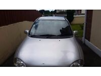 Vauxhall Corsa good condition grey petrol good first time car or runaround £350 ono