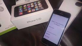 I-Phone 5s 16gb Virgin & EE