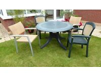 Garden Table (no chairs) - Bargain £10