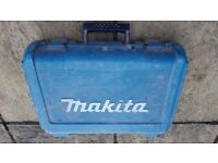 Makita drill empty case
