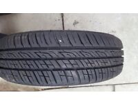 Brand new Barum Brillantis 2 155/65 R13 73T tyre, currently on a wheel (included)