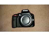 Nikon D3300 24.2mp Digital SLR Camera Black