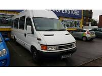 IVECO 2.8 TD 17 SEATER MINIBUS 5 SPEED WHITE FULL RESPRAY COACH DIESEL MOT to 12/17