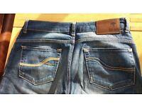 womens jeans fatface waist 10 length 32