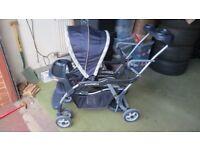 Baby trend Sit and stand LX double buggy tandem
