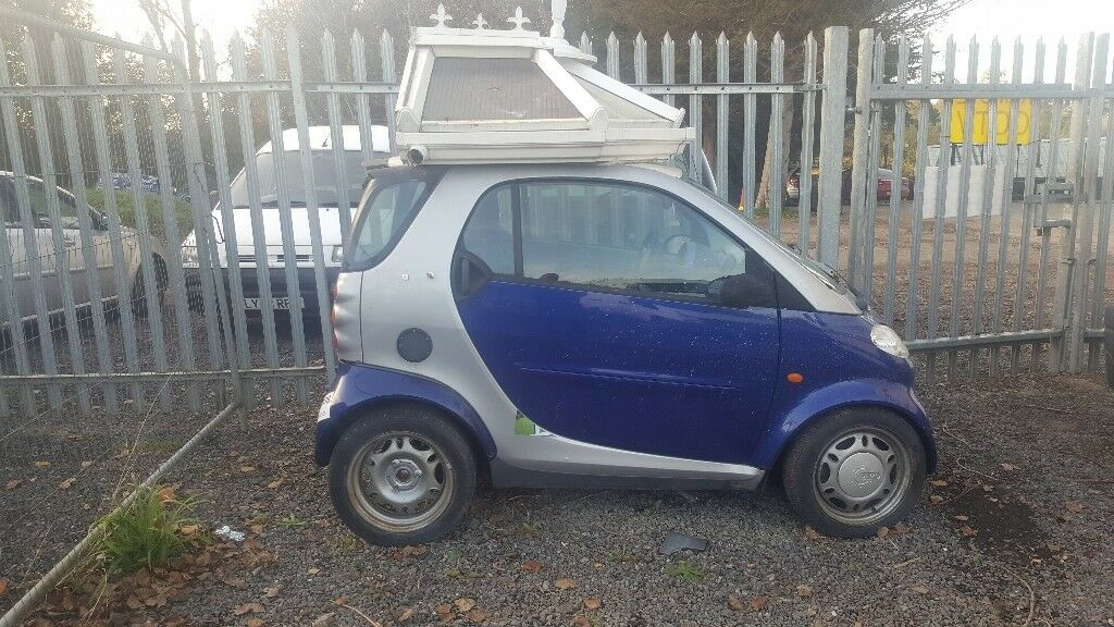 SMART AUTO. LEFT HAND DRIVE. 77000. WITH CRAZY SUNROOF! SEE PICS. NO MOT.