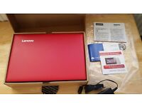 New Lenovo IdeaPad 100S 11.6 Inch Intel 1.83Ghz 2GB Ram 32GB HDD Windows 10 Laptop - Red.