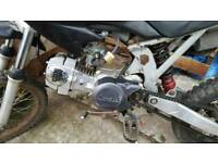 Pit bike 125cc / spares or repairs