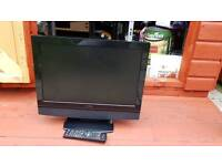 "GOODMANS 19"" LCD TV WITH BUILT IN DVD PLAYER"