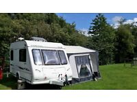 Compass Corona 362, 2007 EK 2 berth Caravan with full Bradcott awning, may extras included