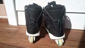 Nil Jansens Aggressive Skates (uk size 6) Black