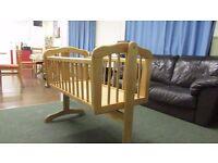 cot rocking crib