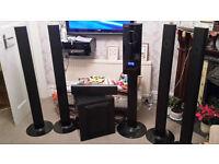 Samsung HT-TXQ120 DVD/CD/Radio 5.1 surround sound system [sounds amazing]