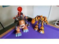 Imaginext T-Rex & Bumblebee Transformer